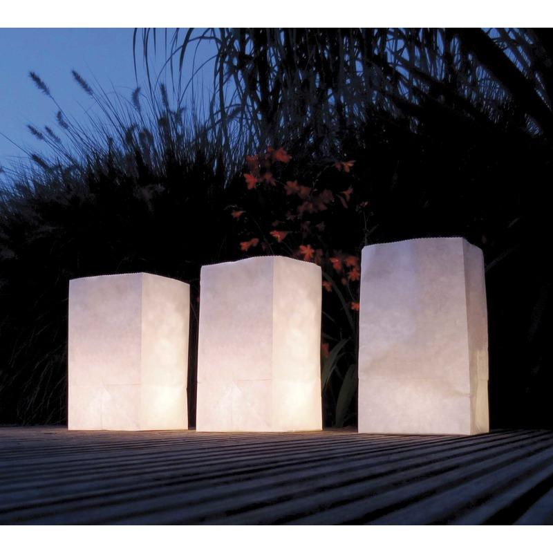 Candle Bags set  26 cm (bron: Hawaii-feestwinkel)