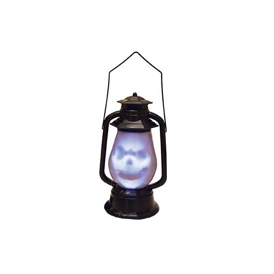 Doodshoofd lantaarn met licht en geluid (bron: Hawaii-feestwinkel)