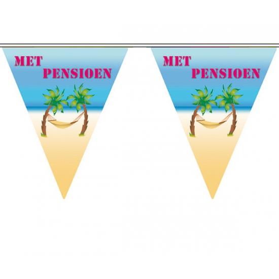 Feest vlaggenlijn pensioen (bron: Hawaii-feestwinkel)