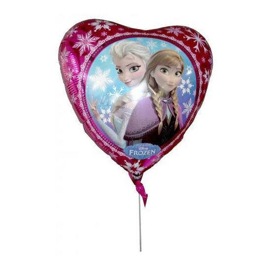 Folie ballon hart Elsa en Anna 43 cm (bron: Hawaii-feestwinkel)