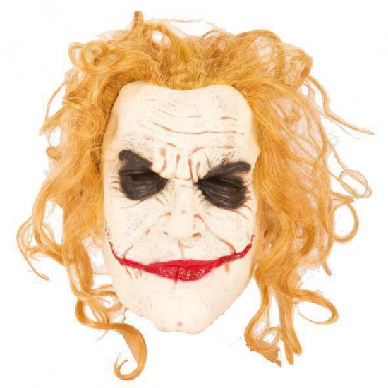 Halloween masker enge jokers monster (bron: Hawaii-feestwinkel)