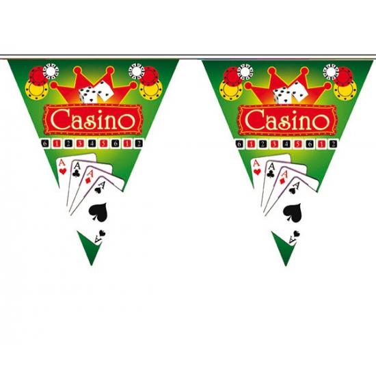 Hollywood thema vlaggenlijn Casino (bron: Hawaii-feestwinkel)