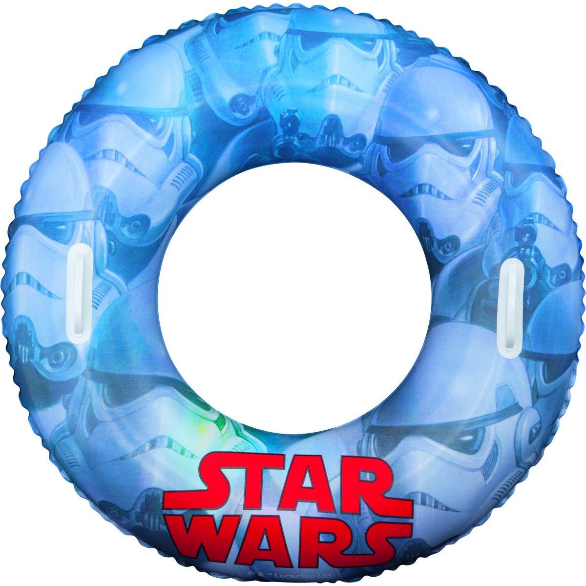 Star Wars zwemband licht blauw (bron: Hawaii-feestwinkel)