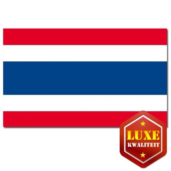 Thaise vlaggen goede kwaliteit (bron: Hawaii-feestwinkel)