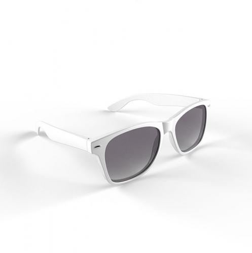 Trendy zonnebrillen wit (bron: Hawaii-feestwinkel)