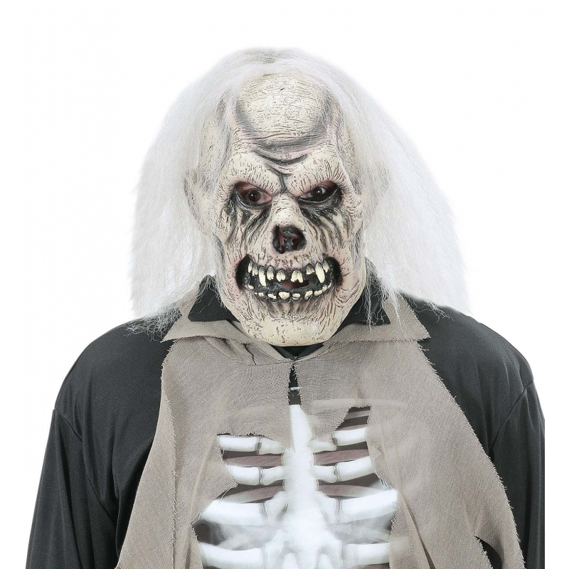 Verrotte schedel masker voor volwassenen (bron: Hawaii-feestwinkel)