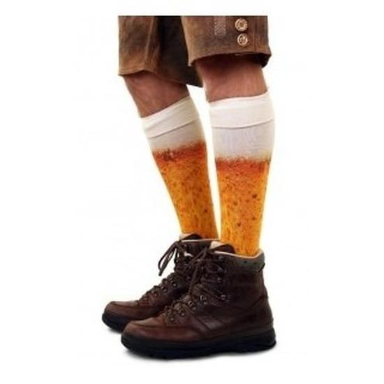 Bier kousen voor heren maat 43/46