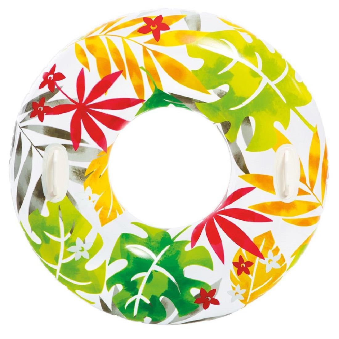 Bladeren Intex zwemband 97 cm