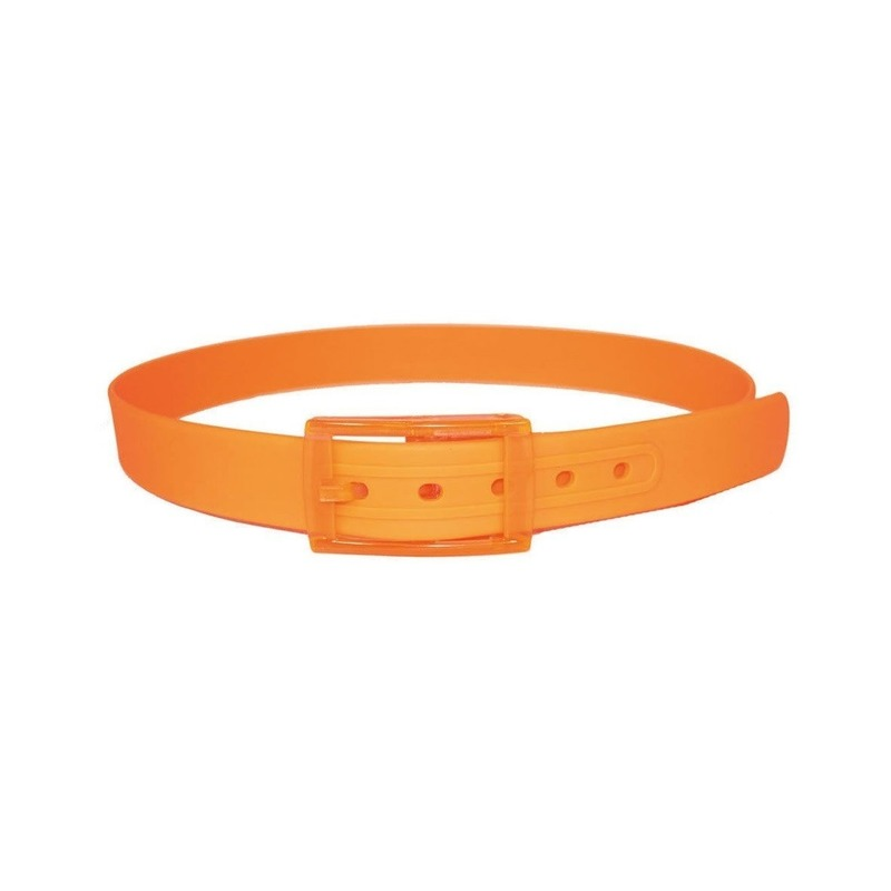 Feest riem in de kleur oranje