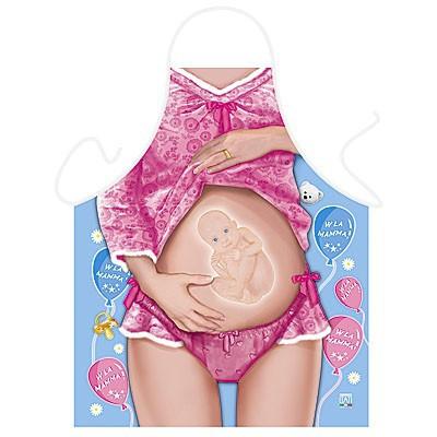 Fun zwangerschaps schort