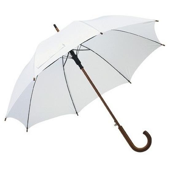 Grote paraplu wit 103 cm