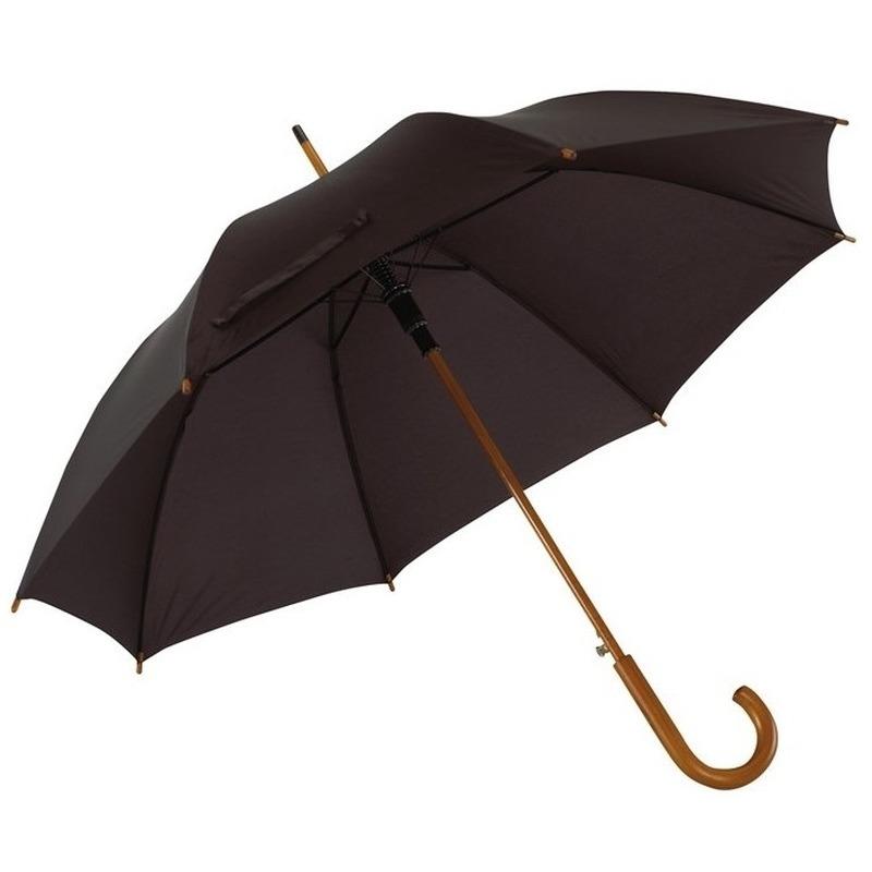 Grote paraplu zwart 103 cm