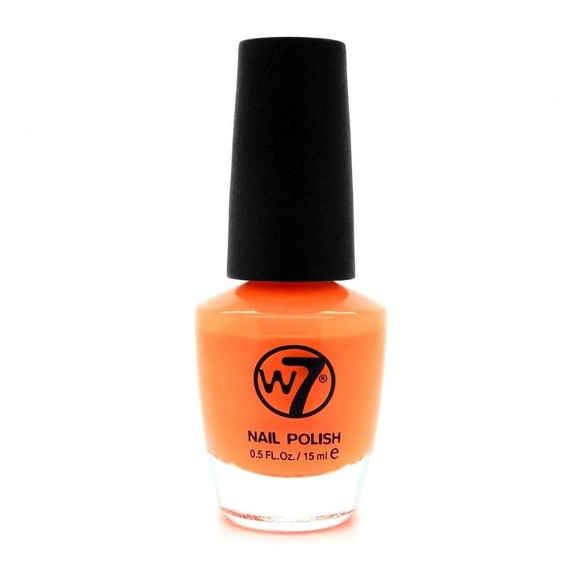 Nagellak mat oranje W7 15 ml
