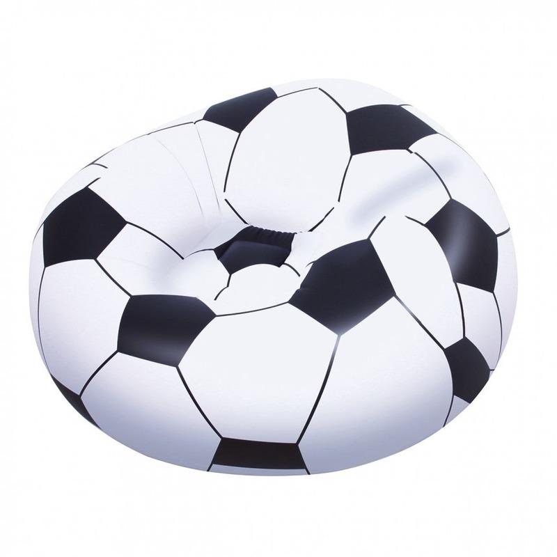 Opblaas voetbalstoel 114 cm