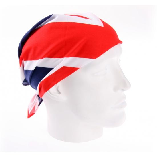 Polyester Engeland bandana 54 x 54 cm