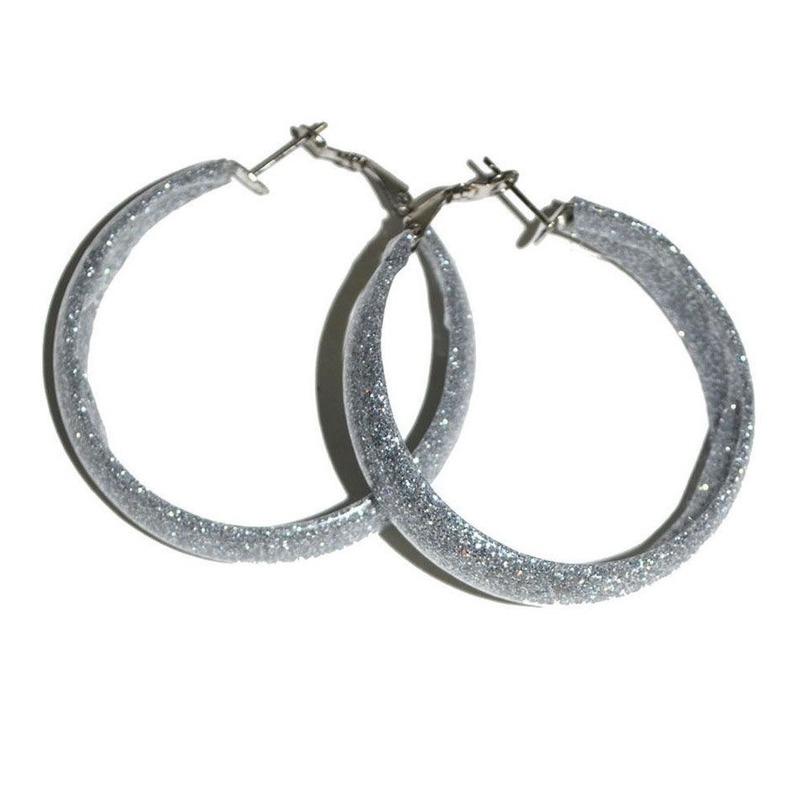 Ronde oorbellen zilver