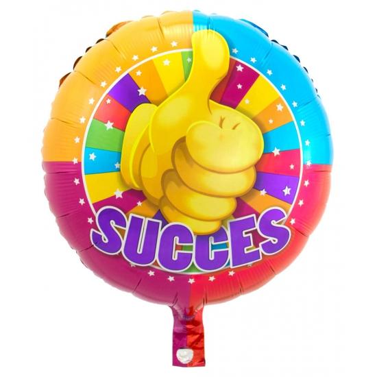Succes folie ballonnen duim omhoog