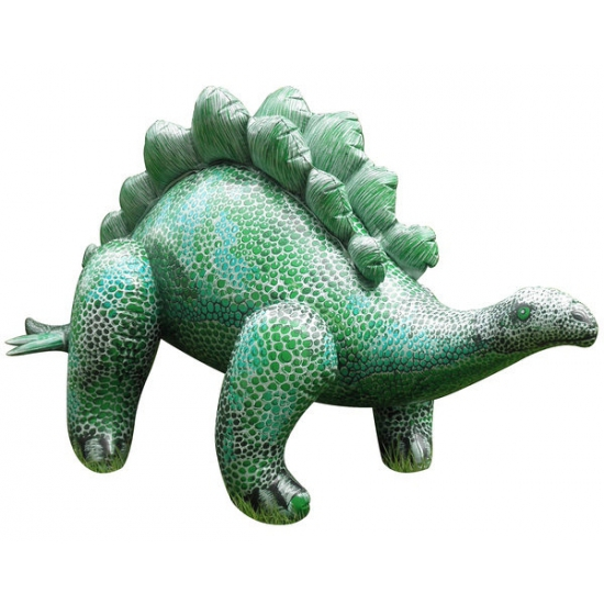XXL opblaas Stegosaurus groen 117 cm